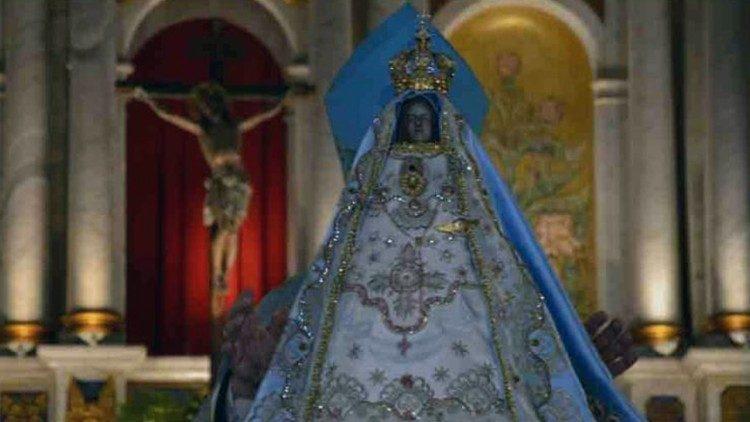 Virgen María del Valle, na Catedral da Diocese de Catamarca