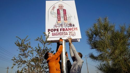 Papa no Iraque: recomeçar de Abraão para se reconhecer irmãos